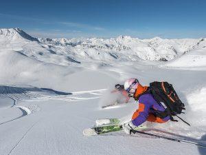 En visite d'hôtels aux Arcs (Savoie)